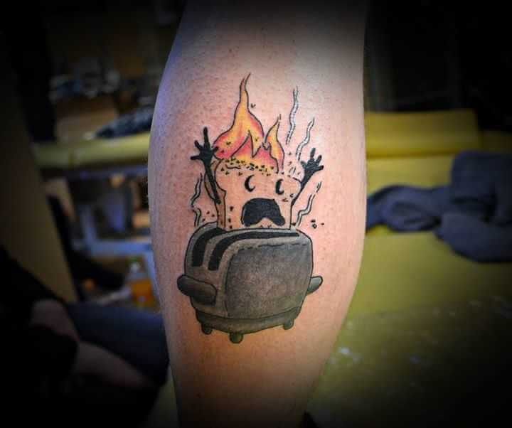 Bein tattoo Comic