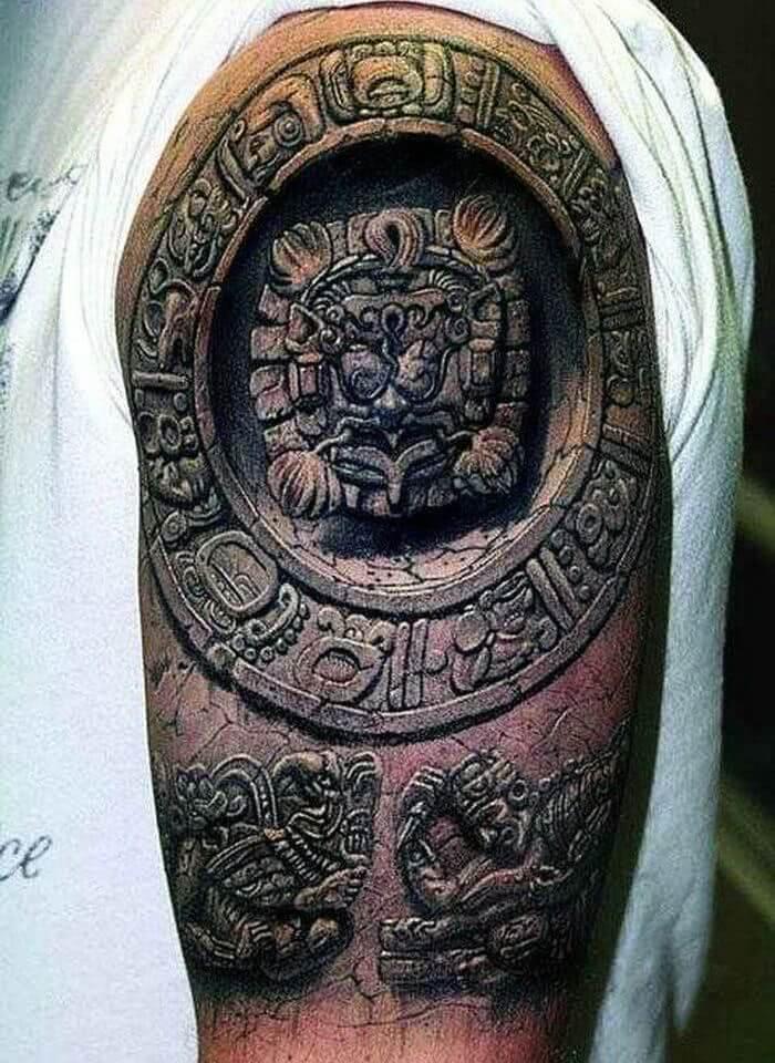 3D Aztec Sleeve