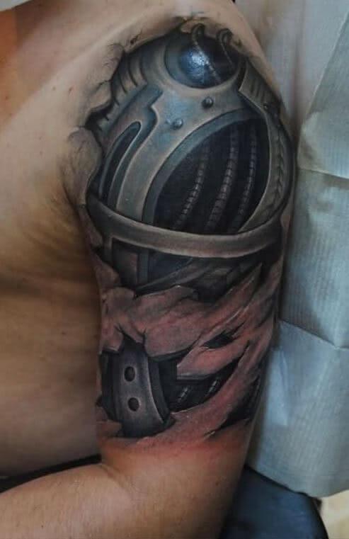 3D Bio-Mechanic Arm Schulter