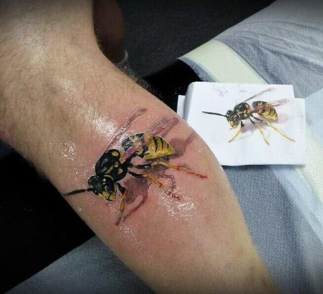 Biene in 3D