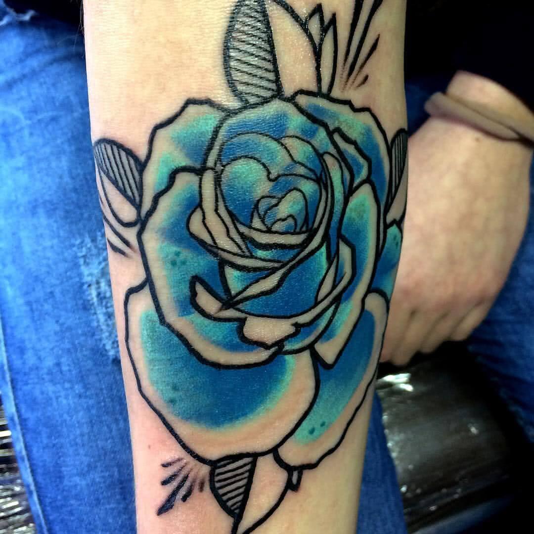 blaue Rose