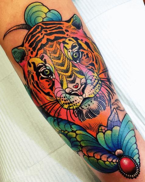 Bunter Tiger