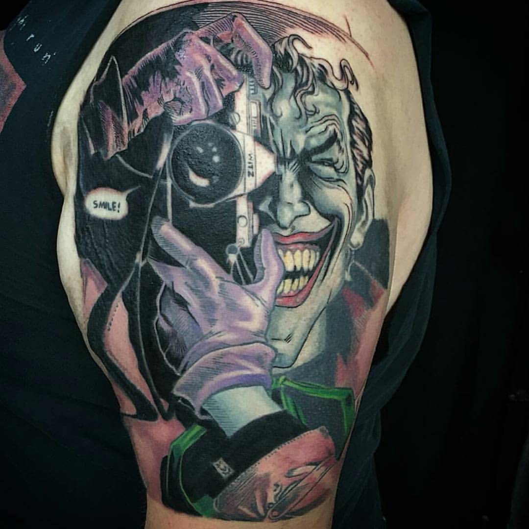 Comic Joker Batman