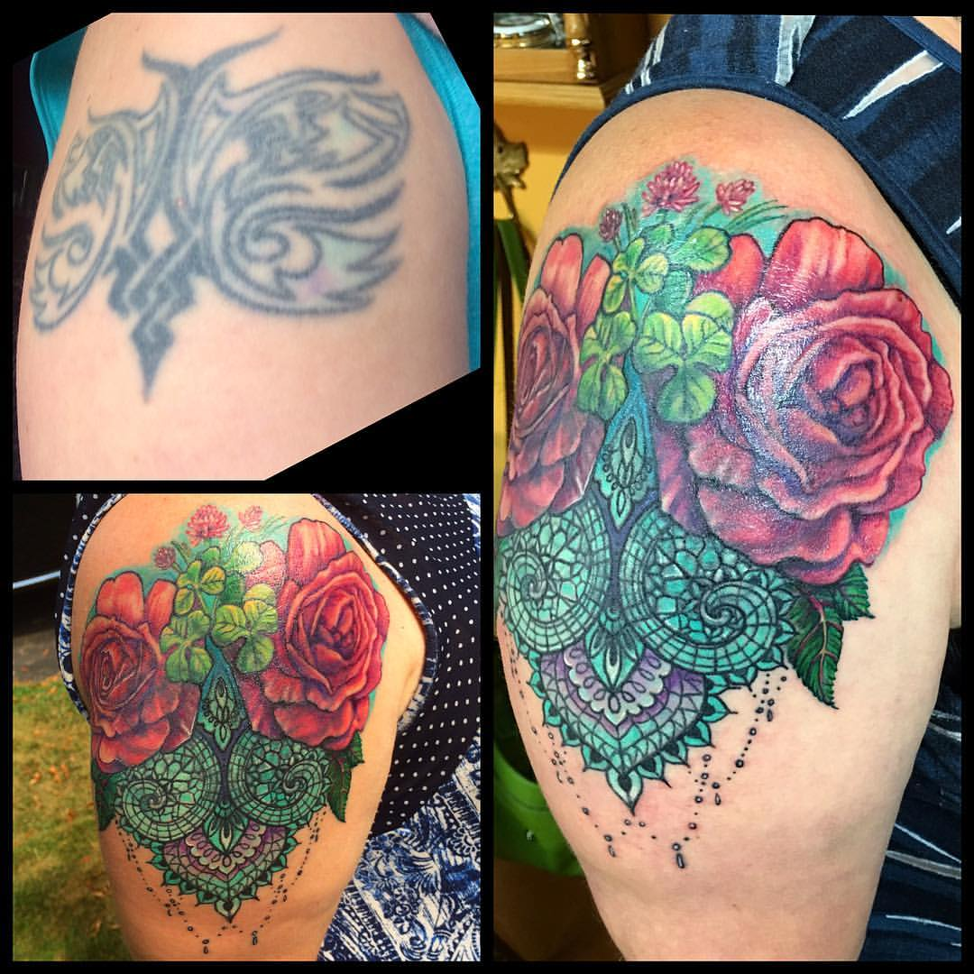 Cover Up Blumen