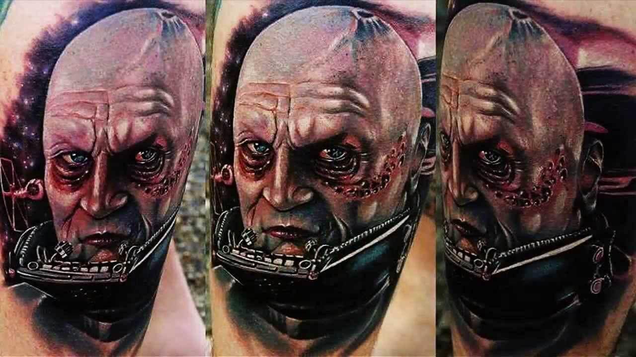 Darth Vader ohne Helm