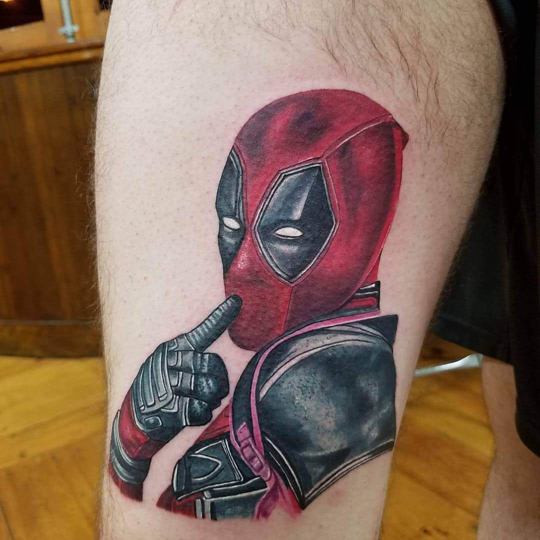 Deadpool in sexy Pose