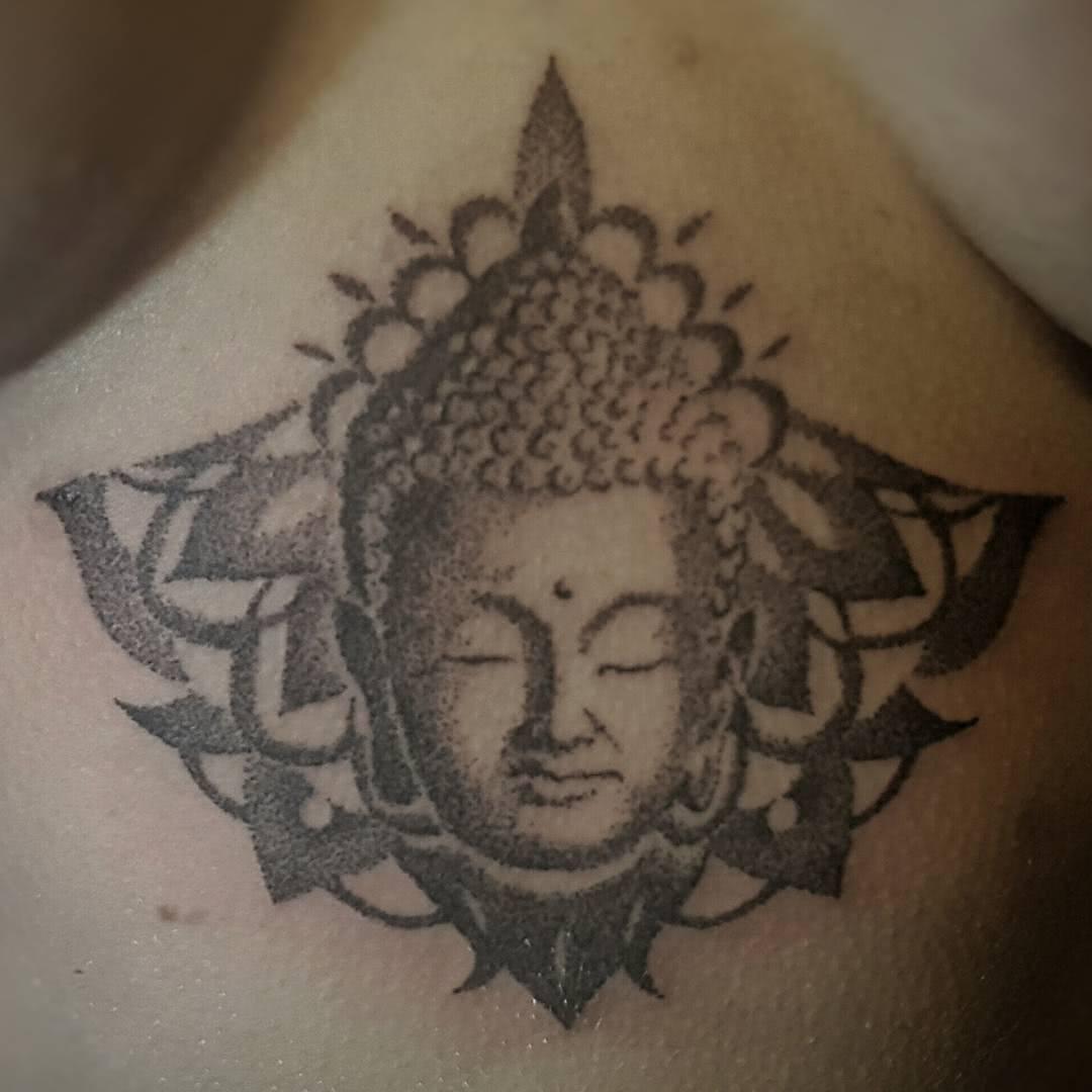 Dotwork Buddha