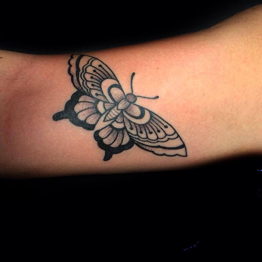 Dotwork Schmetterling
