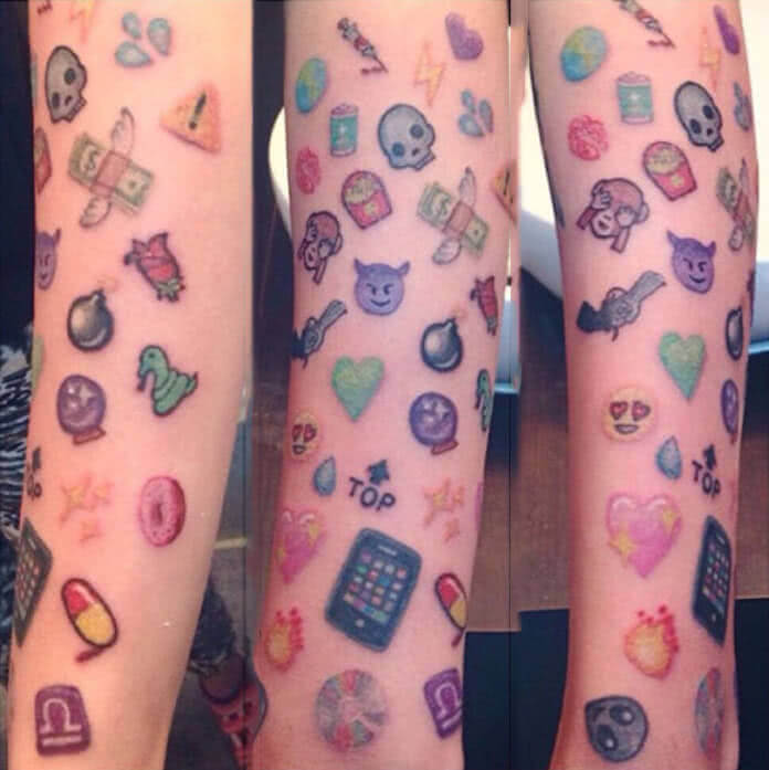 Tattoo Emoji Emojis
