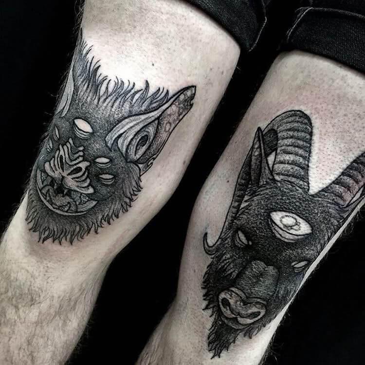 Fledermaus und Ziegenbock