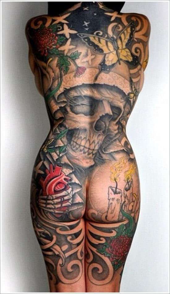 Ganzkörper Rücken