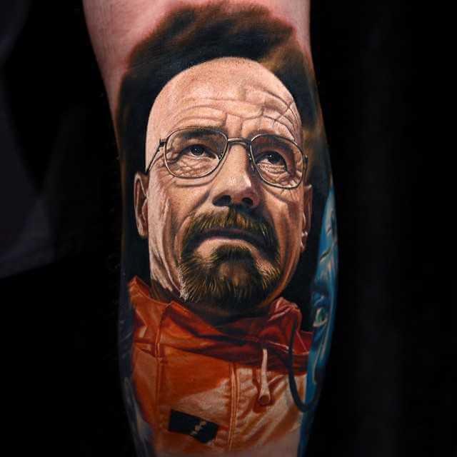 Tattoo Heisenberg Realistic