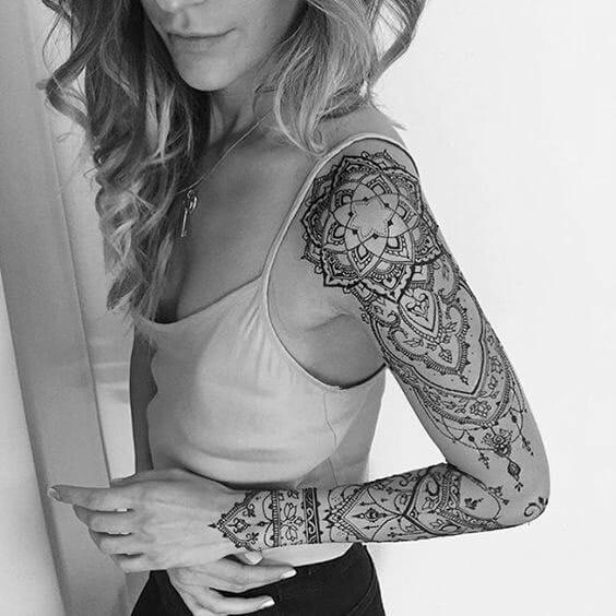 Henna Arm Sleeve
