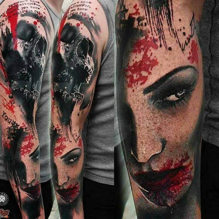 Horror Sleeve Arm