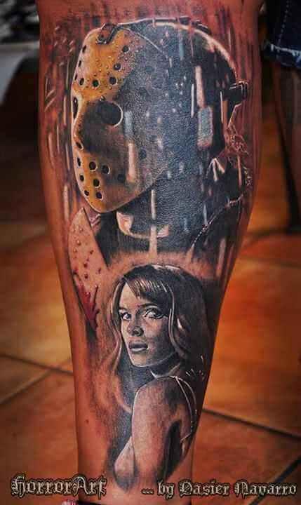Tattoo Jason Voorhees