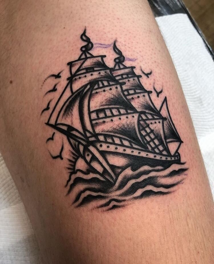 kleines Segelschiff