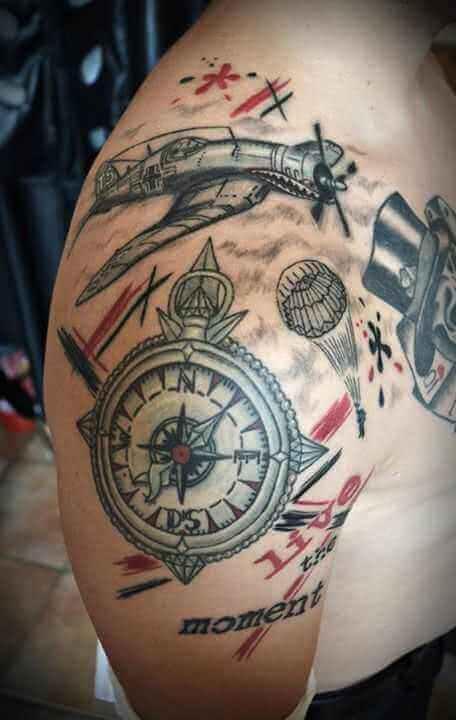 Kompass – Stuka – Fallschirmspringer