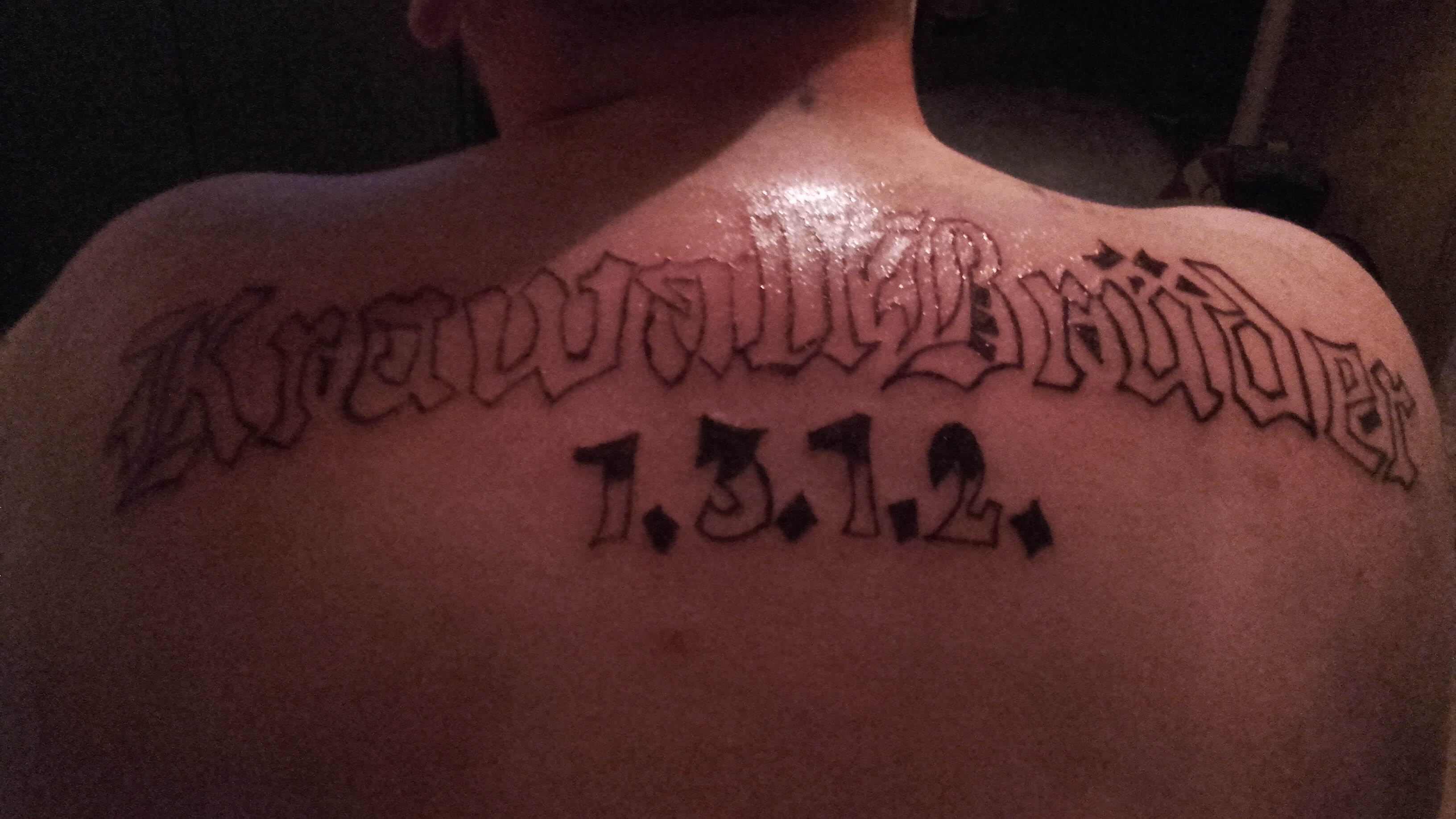 Tattoo krawallbrüder