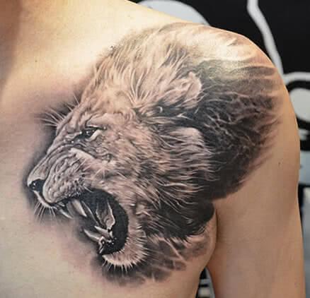 Löwe – Löwenkopf