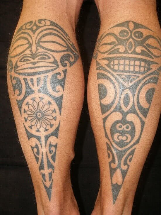 Maori Masken