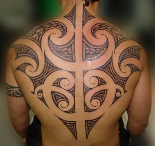 Maori Rücken