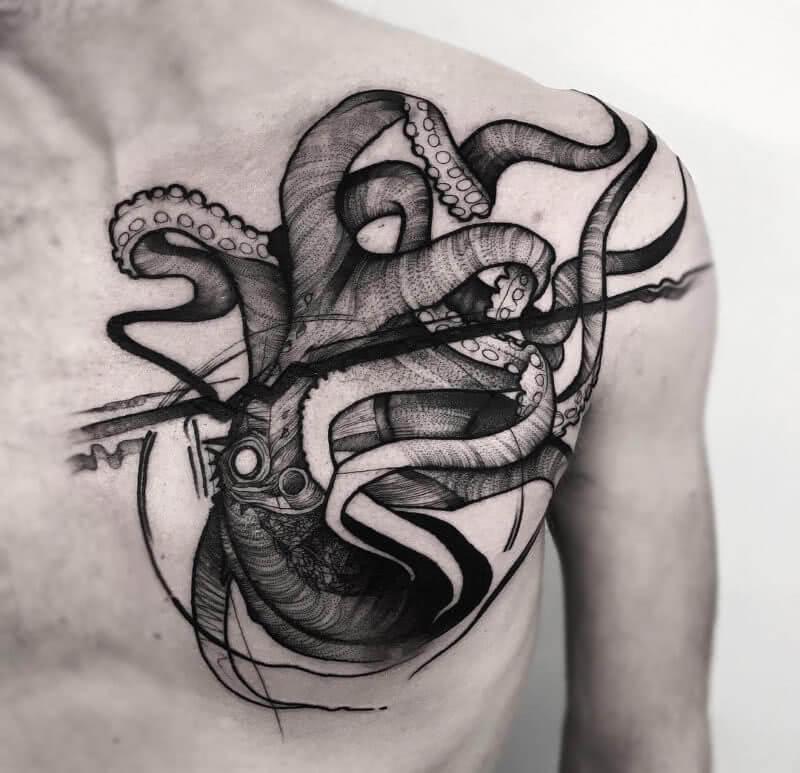 Octopus Brust
