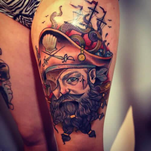 Oldschool Pirat