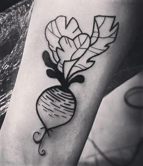 Outline Tattoo Radischen
