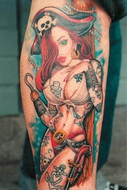 Pinup Piraten Girl