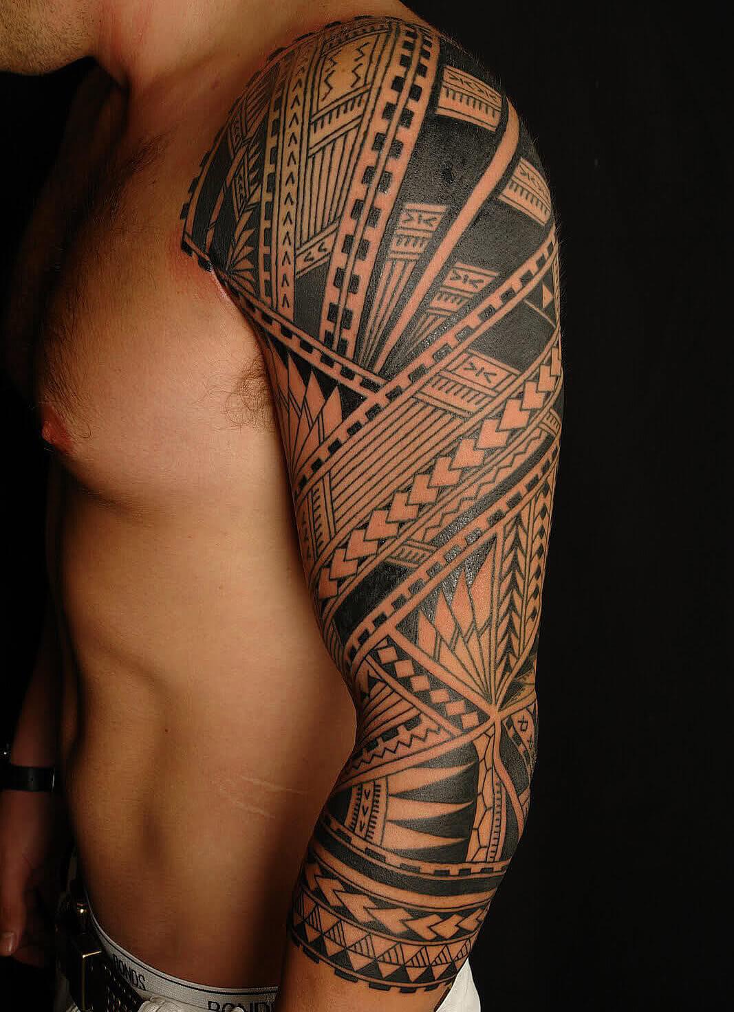 Polynesisches Muster