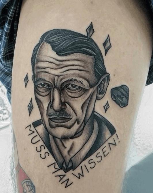 Tattoo Prof. Dr. Axel Stoll