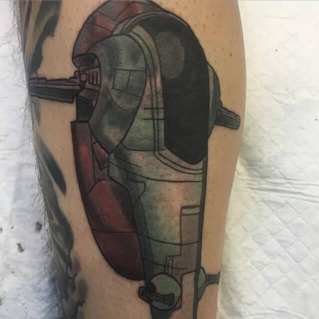 Raumschiff von Boba Fett