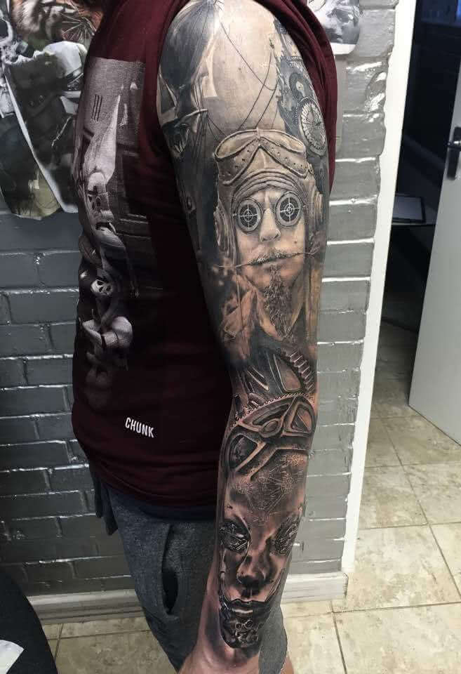Realistic Arm Sleeve