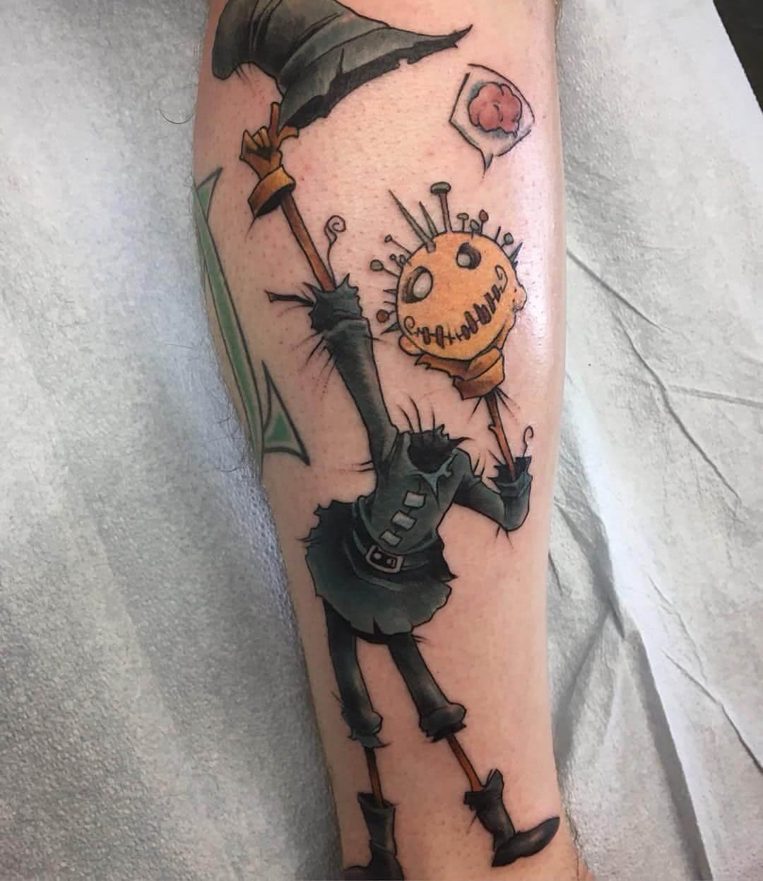 Scarecrow Vogelscheuche