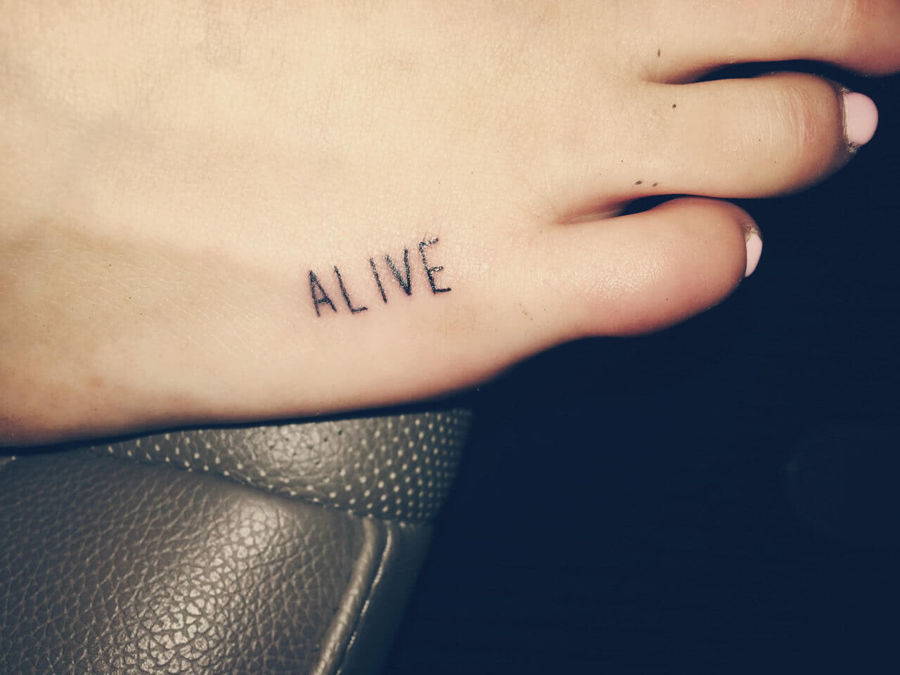 Schrift Alive