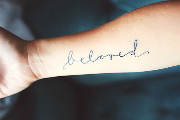 Schrift beloved