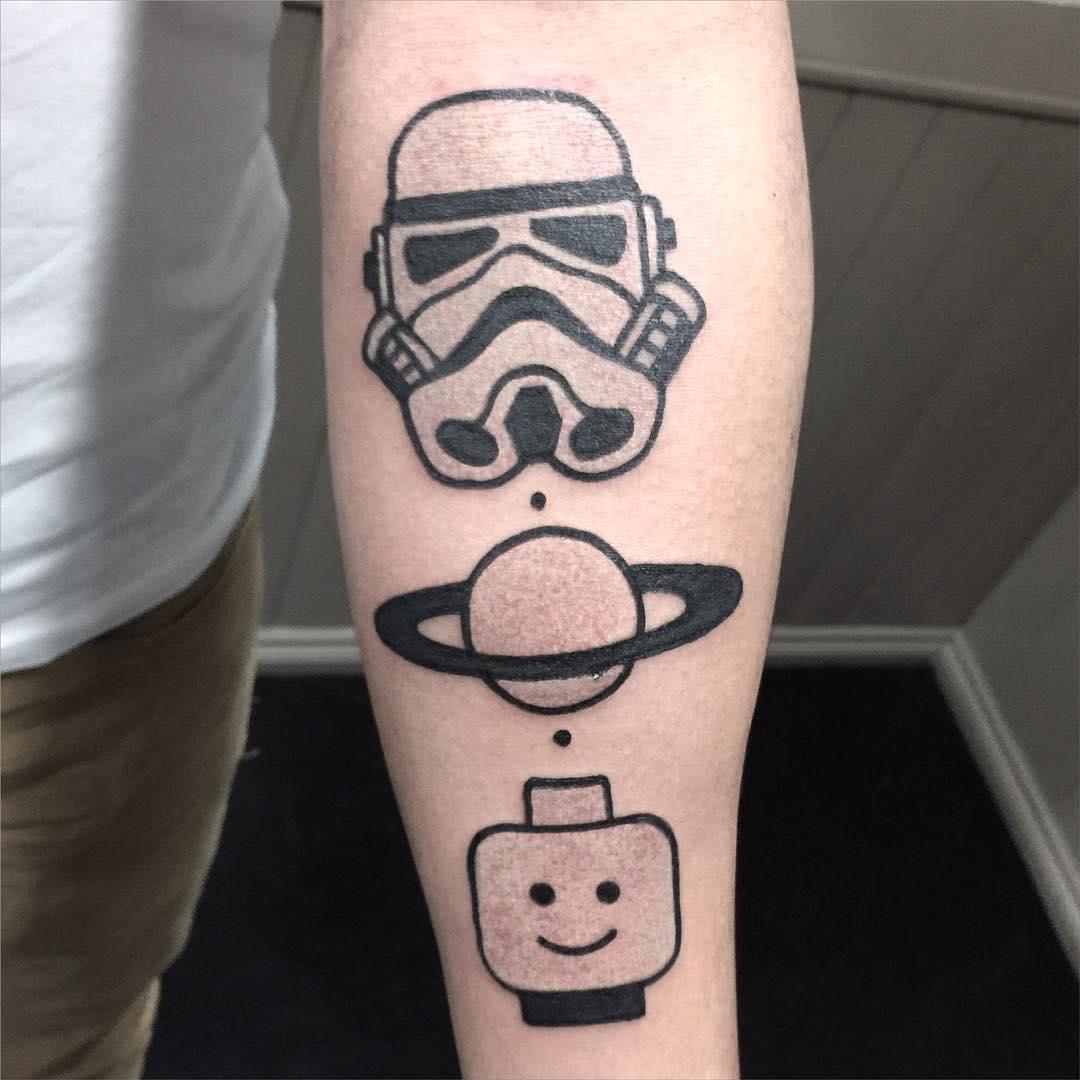 Stormtrooper und Lego