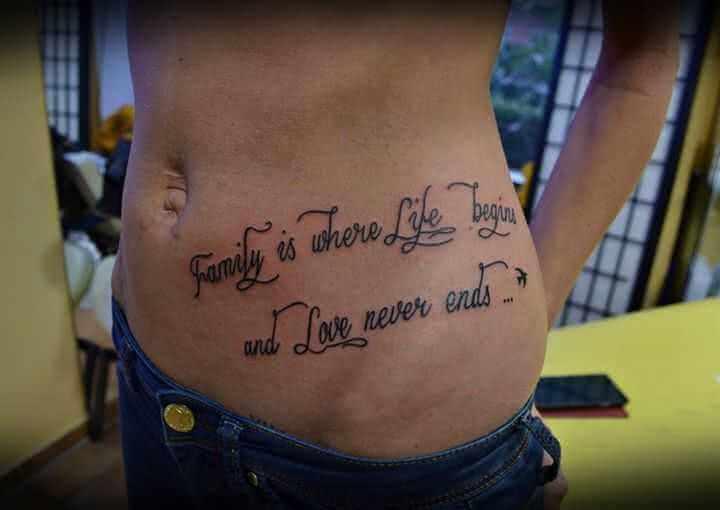 Tattoospruch