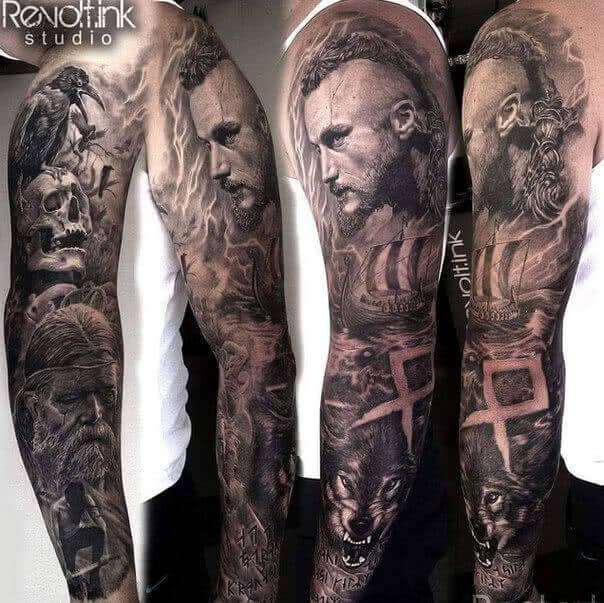 Tattoo Vikings Wikinger