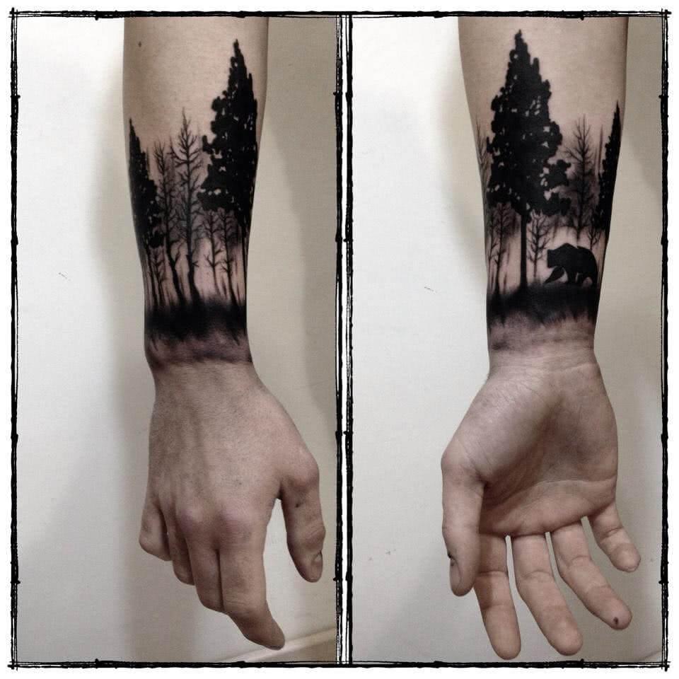 Wald am Arm