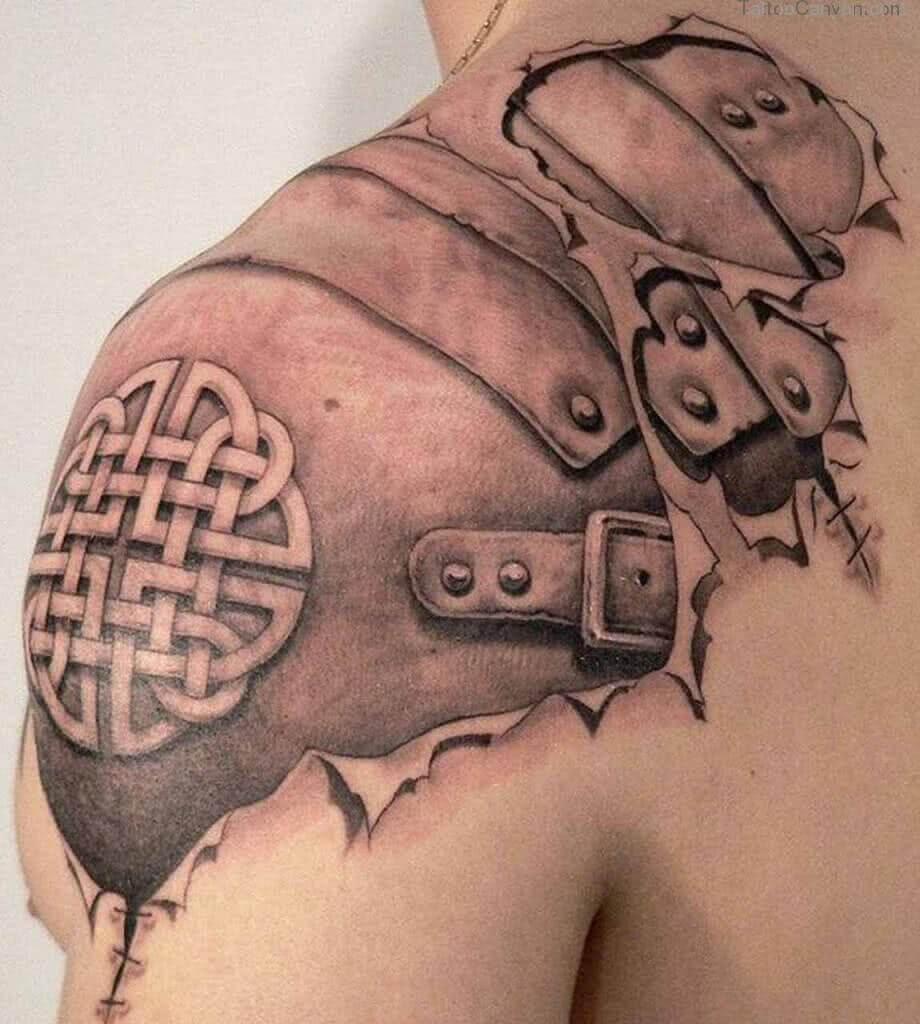 Tattoo Wikinger Rüstung